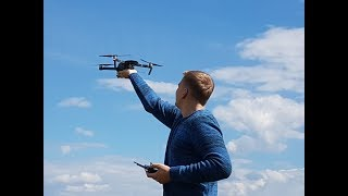 Как мы полетали на квадрокоптере dji mavic pro, режим active track