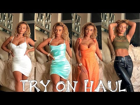"""Tiger Mist """"Going out Looks"""" Try On Haul 