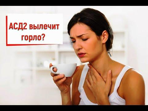 АСД2 лечит горло? Избавьтесь от грибка КАНДИДА! Ответ на ваш вопрос.