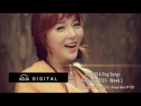 Top 100 K-Pop Songs for February 2015 Week 1