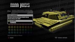 Customize Non-Customizable Vehicles (Saints Row: The Third)