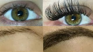 How To Get Long Eyelashes & Thick Eyebrows In Just 3 Days