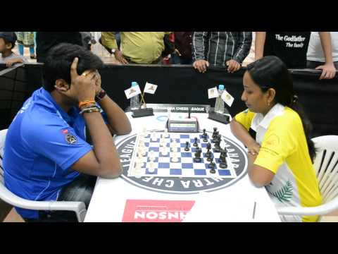 Start of Lalithbabu – Meenakshi game from Finals