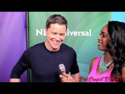 Greg Poehler WelcomeToSweden at the 2014 NBCUniversal Summer Press Day @GregPoehler