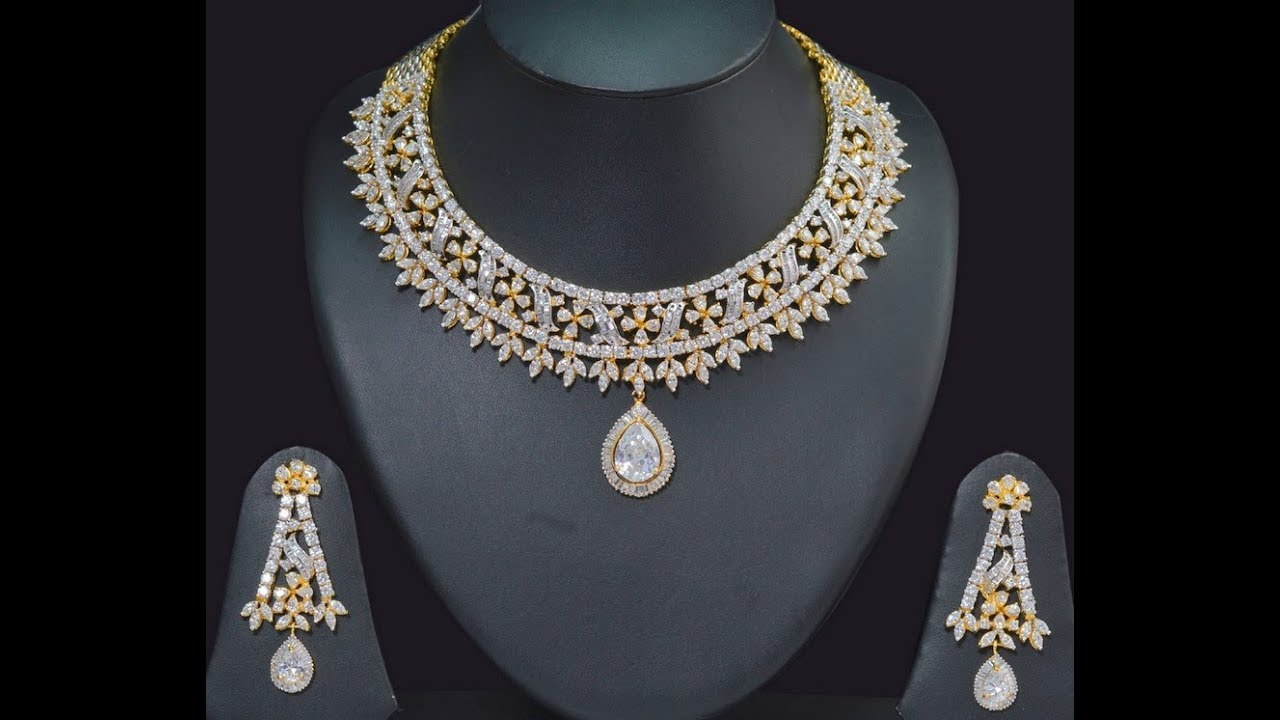 in stone for set product style girls fj designer tikka with crystal necklace and maang pearl