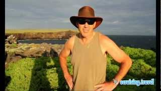Brett in the Galapagos Islands