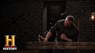 Forged in Fire: Hatchets Tested (Season 5, Episode 14) | History