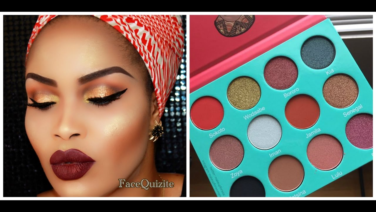 2c93195e11a Juvias Place Saharan Palette: Review and Mini Demo/Tutorial - YouTube
