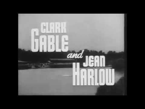 Saratoga 1937 Official Trailer   Clark Gable Jean Harlow Movie HD