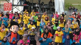 #GegariaFest kicks off in Ipoh with rousing Zumba session