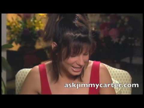 Sandra Bullock in Speed interview