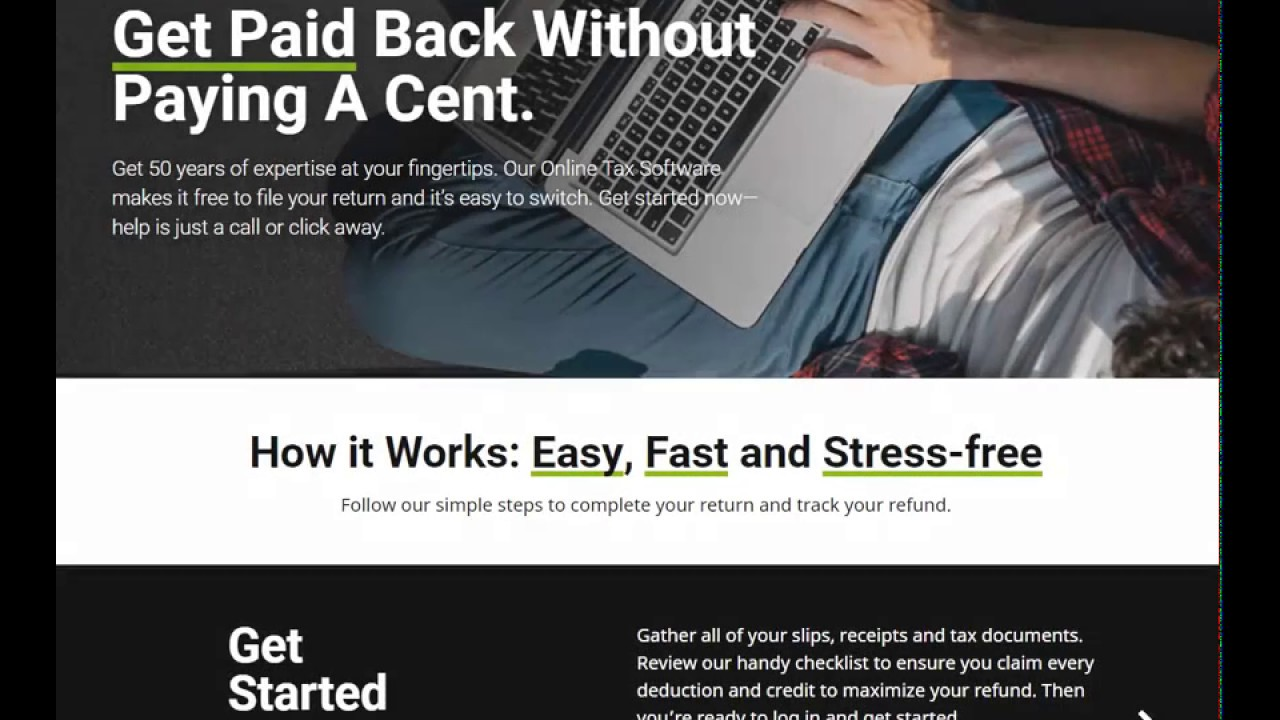 Welcome To The H&r Block Tax Software