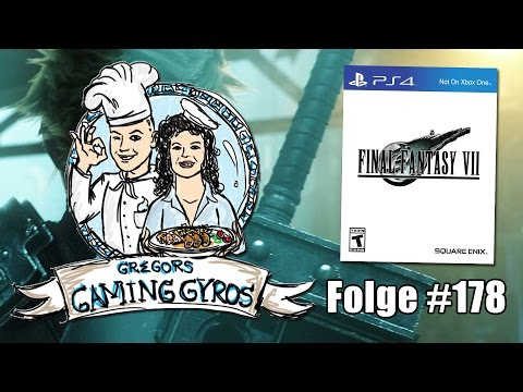 Final Fantasy VII PS4-Edition ~ Press L3+R3 to win! (Gregors Gaming Gyros #178)