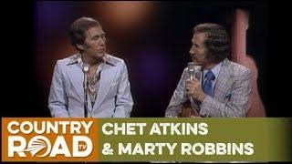 Chet Atkins & Marty Robbins on Marty Robbins' Spotlight