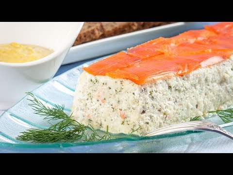 Sole And Salmon Mousse Terrine With Indian Sauce