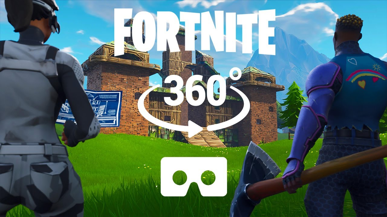 Fortnite Knockout Kills with Victory VR 360 VIDEO