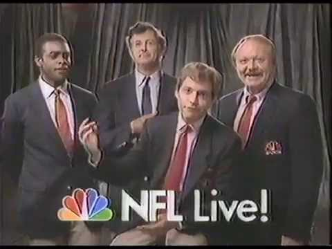 1987 NFL Live on NBC Seahawks vs Dolphins Promo