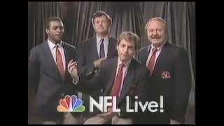 1987 NFL Live on NBC Seahawks vs Dolphins Promo