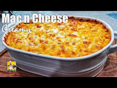 Creamy Mac N Cheese Recipe | Baked Mac N Cheese
