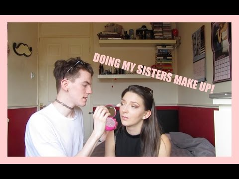DOING MY SISTERS MAKE UP  Elliot James