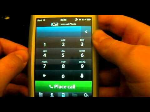 comment appeler gratuitement avec son ipod touch avec icall au qu bec youtube. Black Bedroom Furniture Sets. Home Design Ideas
