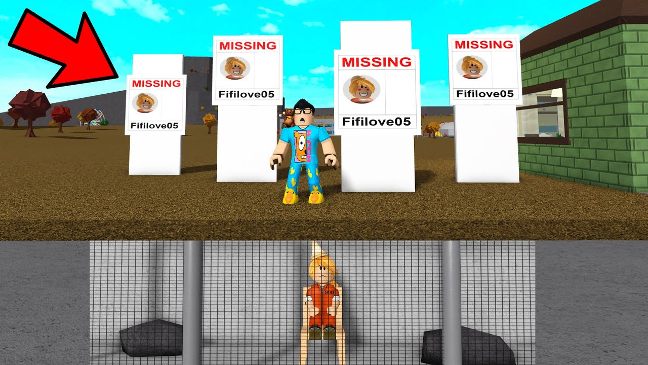 His Sister Went MISSING.. I Had To Save Her! (Roblox Bloxburg) thumbnail