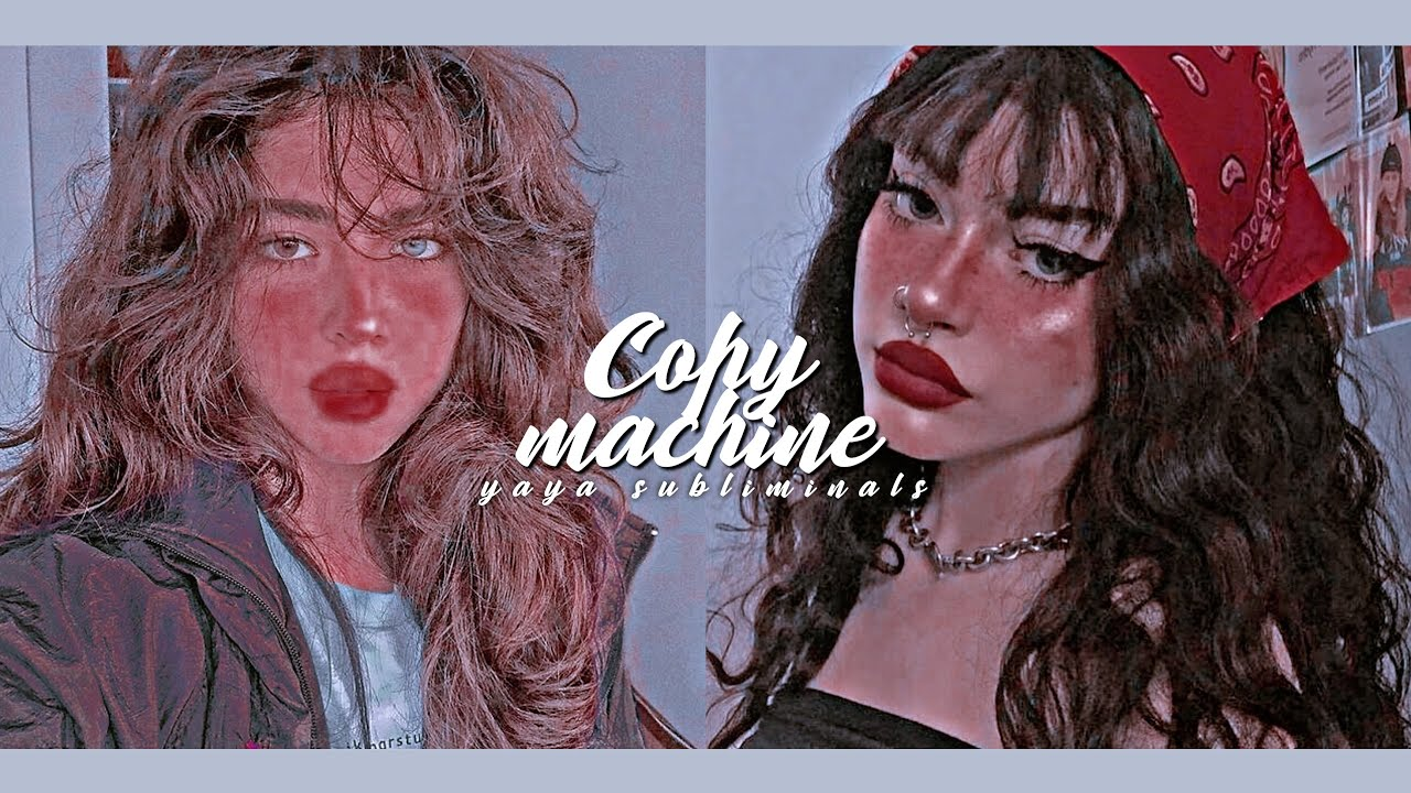♡̷̷〻copy machine ⸝⸝ ultimate ideal face replication 。