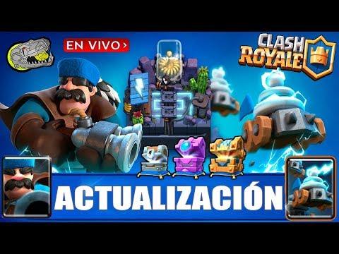 🔴 Esperando la Nueva Actualización - Saldra Hoy! - Clash Royale - Multi Torneos, Misiones y Más