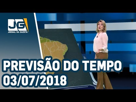 Previsão do Tempo - 03/07/2018