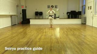 Seiryu - a practice guide for Elora Karate Dojo