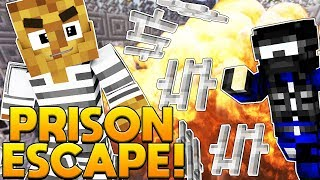 BRAND NEW MINECRAFT MODDED PRISON ESCAPE - MODDED COPS AND ROBBERS