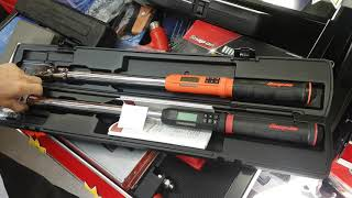 SNAP ON DiGiTal Torque Wrench July 2017 Model .