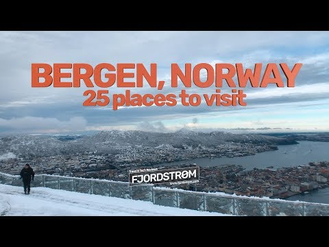Bergen, Norway: 25 places to visit!