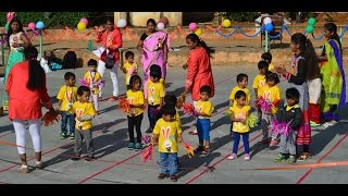 Nursery & Playgroup Drill || Sports Day || 2016-17 || Eurokids A S Rao Nagar || Health is Wealth