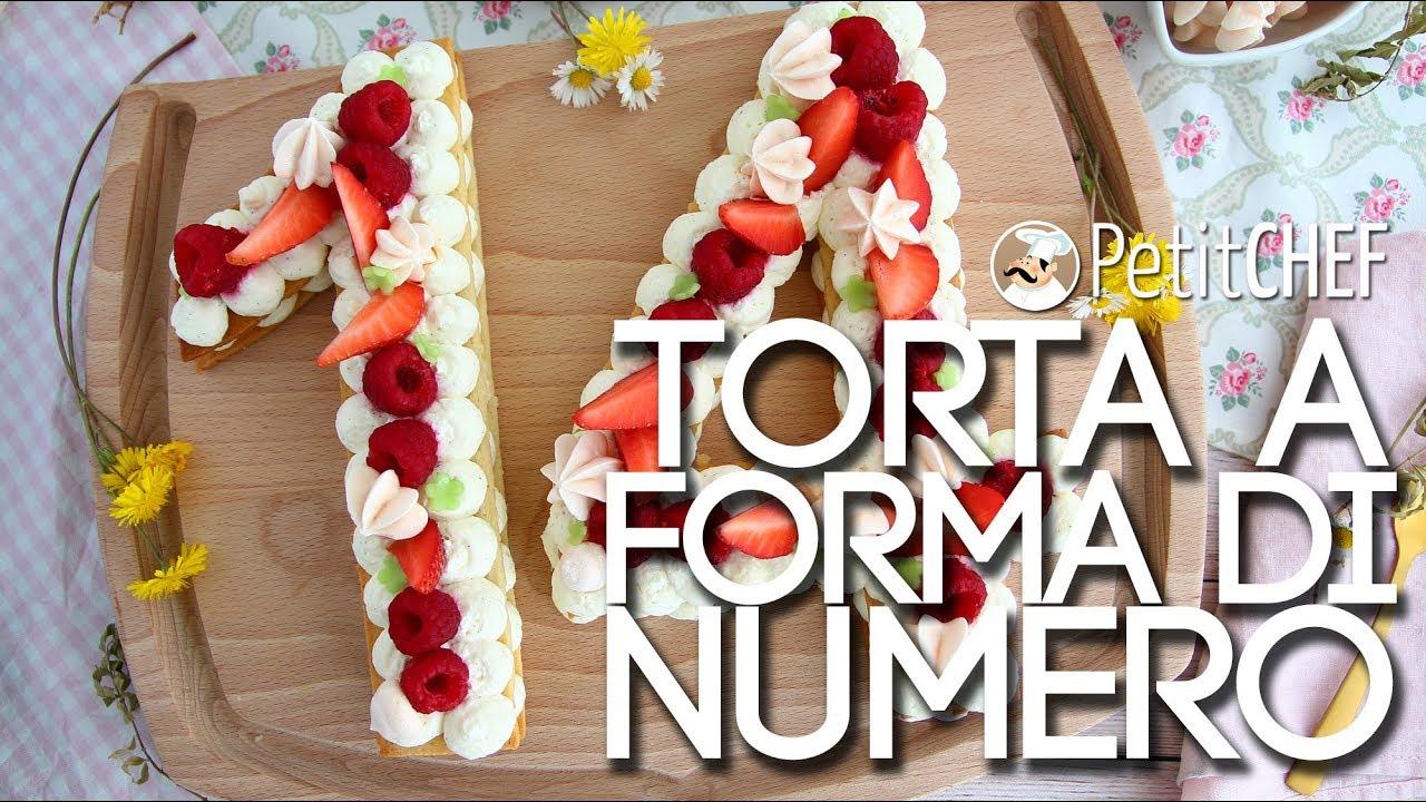 Number Cake Torta A Forma Di Numero Tutorial Video Petitchef It