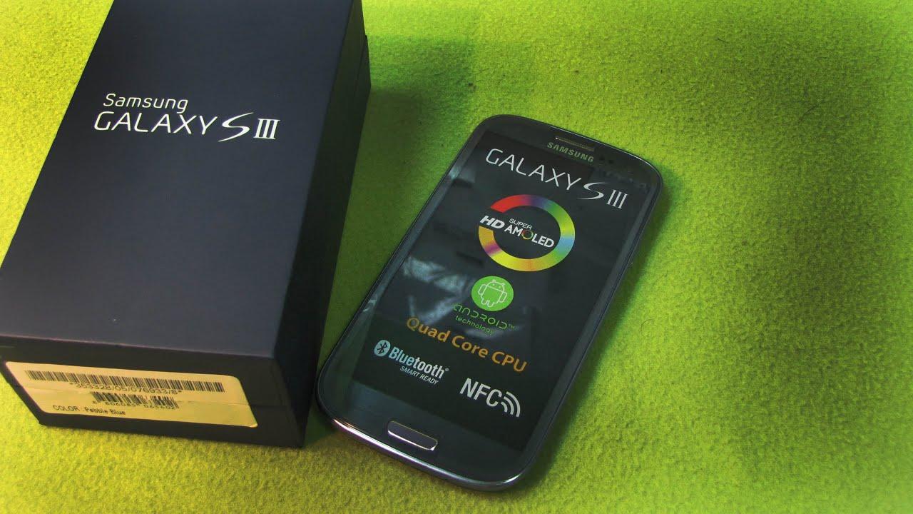 обзор Samsung GT I9300i Galaxy S III Duos ч1 - YouTube