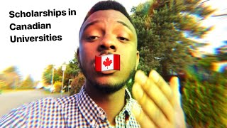 Scholarships in Canada and studying in Canada