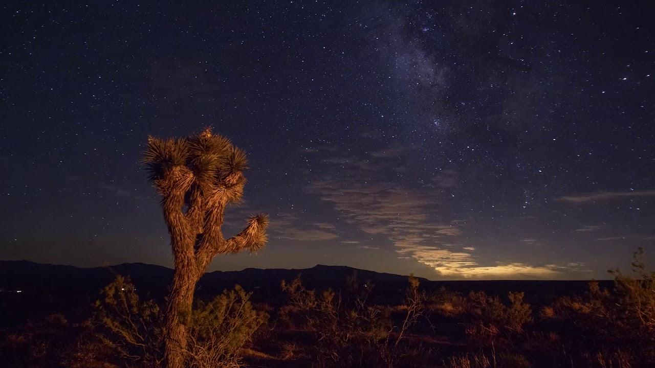 Milky Way Timelapse - Inyokern, California