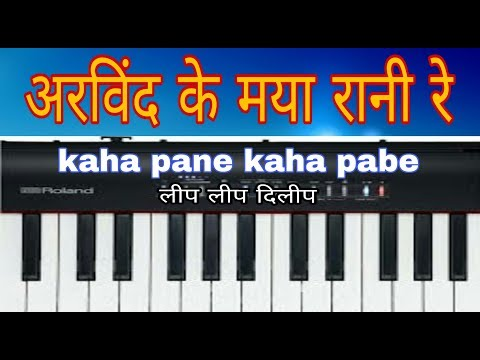 Arwind ke maya rani re cg piano