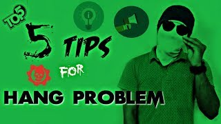 Top 5 Tips for ANDROID MOBILE HANG PROBLEM - Tamil