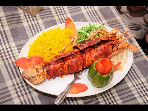 Grilled red lobster non veg recipe in india sea food on streets grilled red lobster non veg recipe in india sea food on streets world street foods goa forumfinder Images