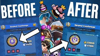 HOW TO REMOVE YOUR LOSSES ON A GRAND CHALLENGE IN CLASH ROYALE!! *NEW UNLIMITED PLAYS GLITCH*