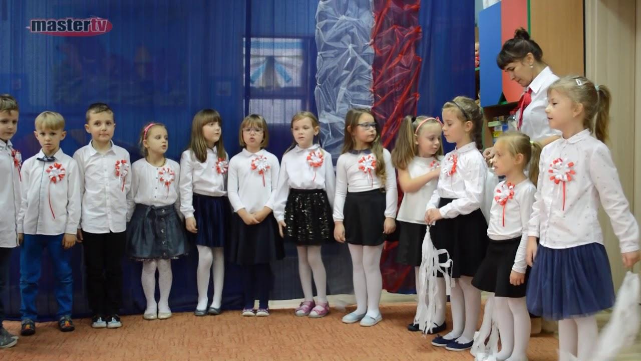 MASTER TV ŁUKÓW – Obchody Święta Niepodległości w Przedszkolu nr 4