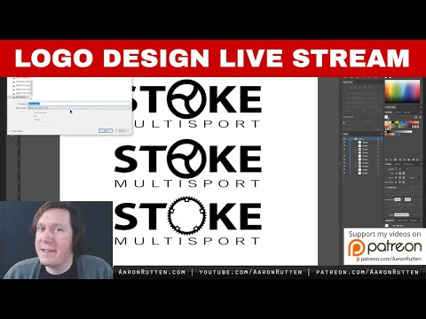 Vector Logo Design Live Stream & Advice for Graphic Designers