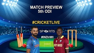 #INDvWI  5th ODI Preview: India Eye Eighth Straight Bilateral ODI Series Win Against The Windies