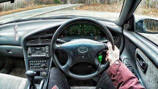 1993 Toyota Corona Exiv 2.0 TR-R - First Person Driving / Вождение от первого лица