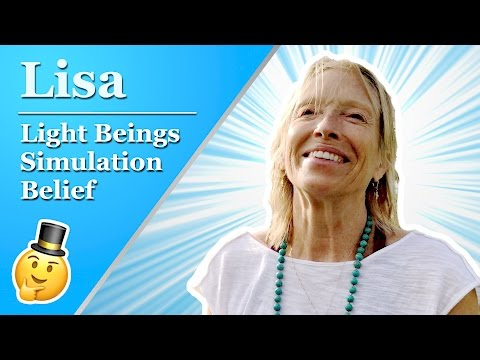 We're Light Beings Living in a Simulation – Lisa | Cordial Conversations