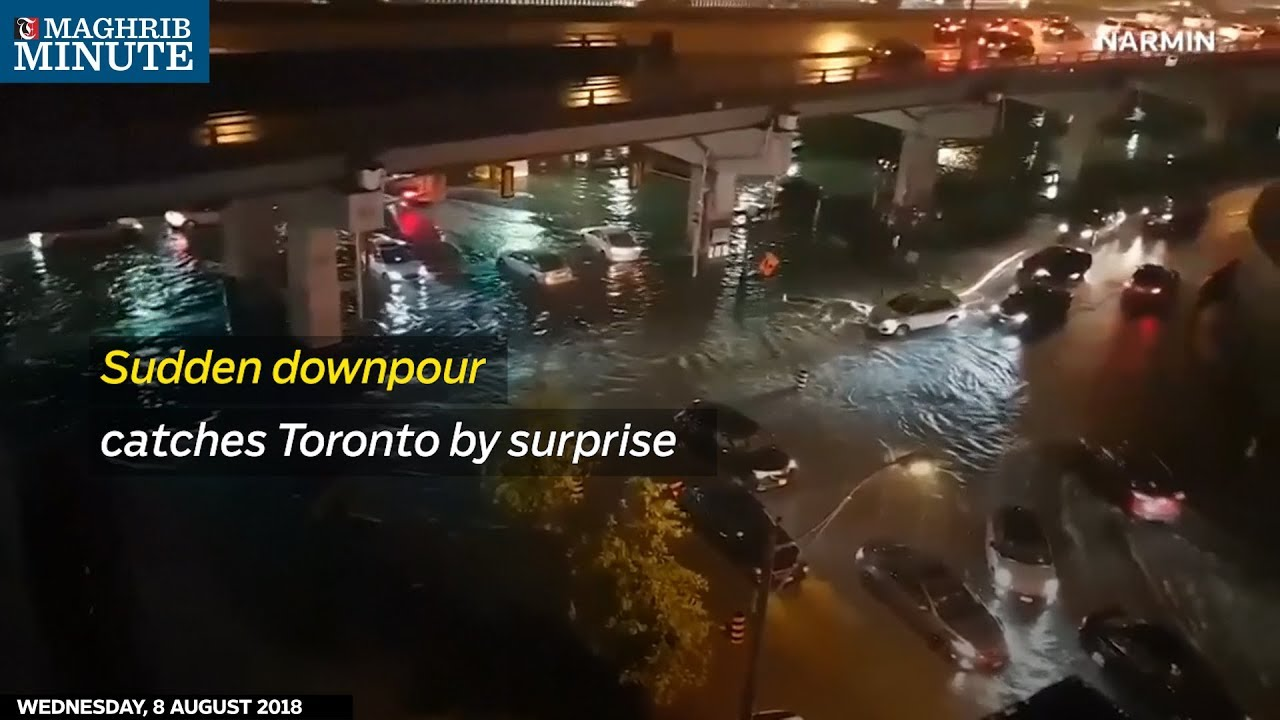 Image result for Toronto downpour August 2018 picture