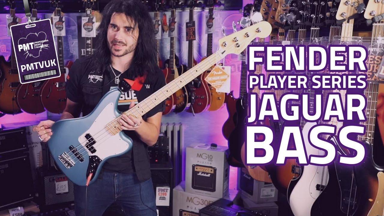 new 2018 fender player series jaguar bass review the new mexican bass [ 1280 x 720 Pixel ]