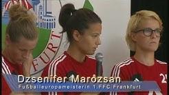 Damen-Fußballeuropameister in der Citygalerie Bad Hersfeld